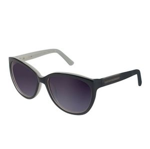 Black and Silver Cat Eye Sunglasses